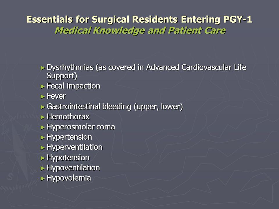 Dysrhythmias (as covered in Advanced Cardiovascular Life Support) Dysrhythmias (as covered in Advanced Cardiovascular Life Support) Fecal impaction Fe