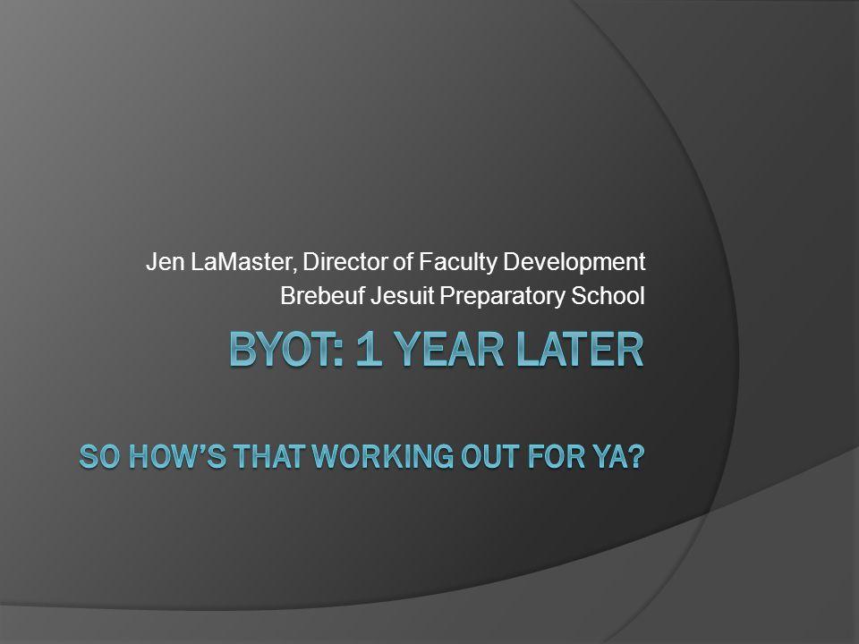 Jen LaMaster, Director of Faculty Development Brebeuf Jesuit Preparatory School