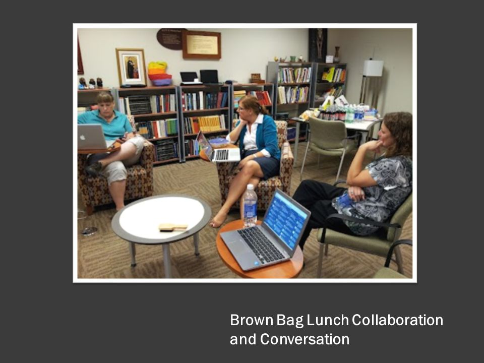 Brown Bag Lunch Collaboration and Conversation