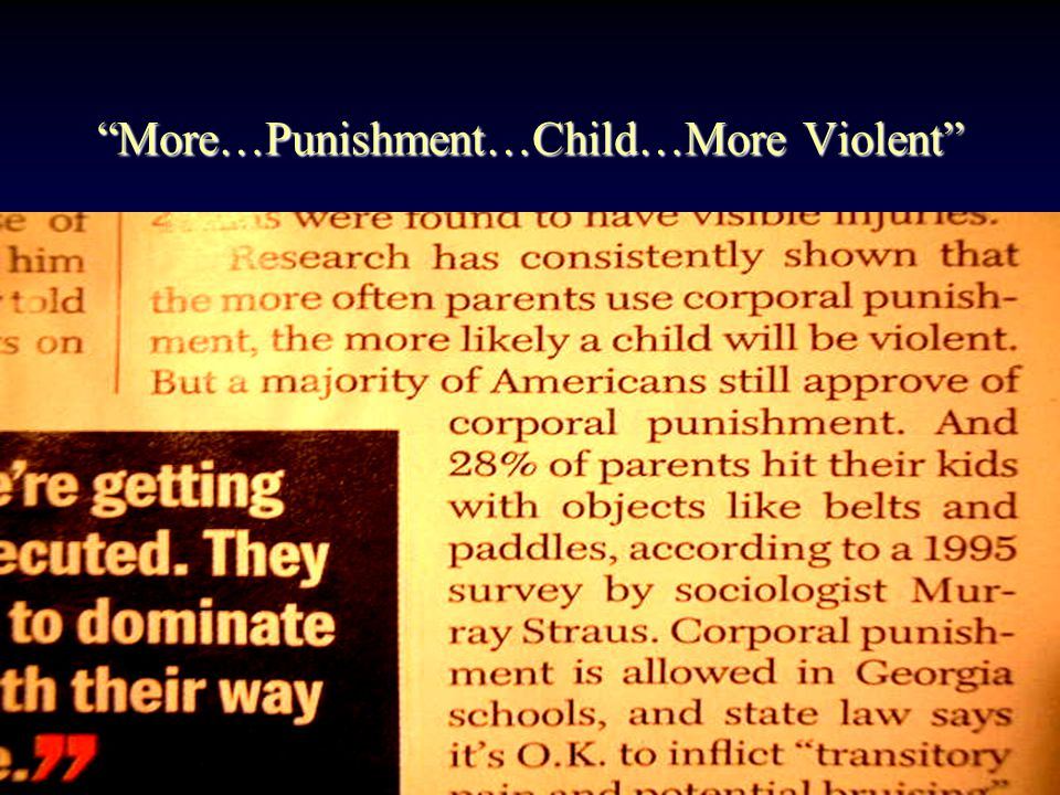 What s wrong with I bring up my child the way I was brought up by my parents! This is a secure-sure fire position: Tried & True May not fit the current context of child rearing –Asian: More extended-family community based –Western: More personal-individually based When parents have problems: Kids will suffer Needs flexibility in parenting: Kids are flexible Issue of corporal punishment: Negative outcome Authoritarianism: Threatening & force: –Adversarial positions: Win-Lose paradigm