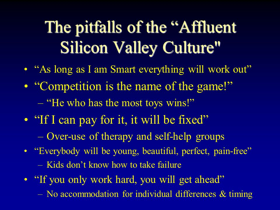 Greed Drives Silicon Valley Culture? Picture credit: Time (Digital) Magazine