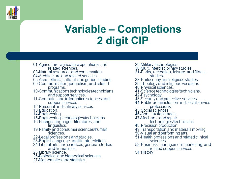 Variable - Completions Grand Total Awards/Degrees conferred between July 1 and June 30 to all recipients, across all race/ethnicities and both genders.