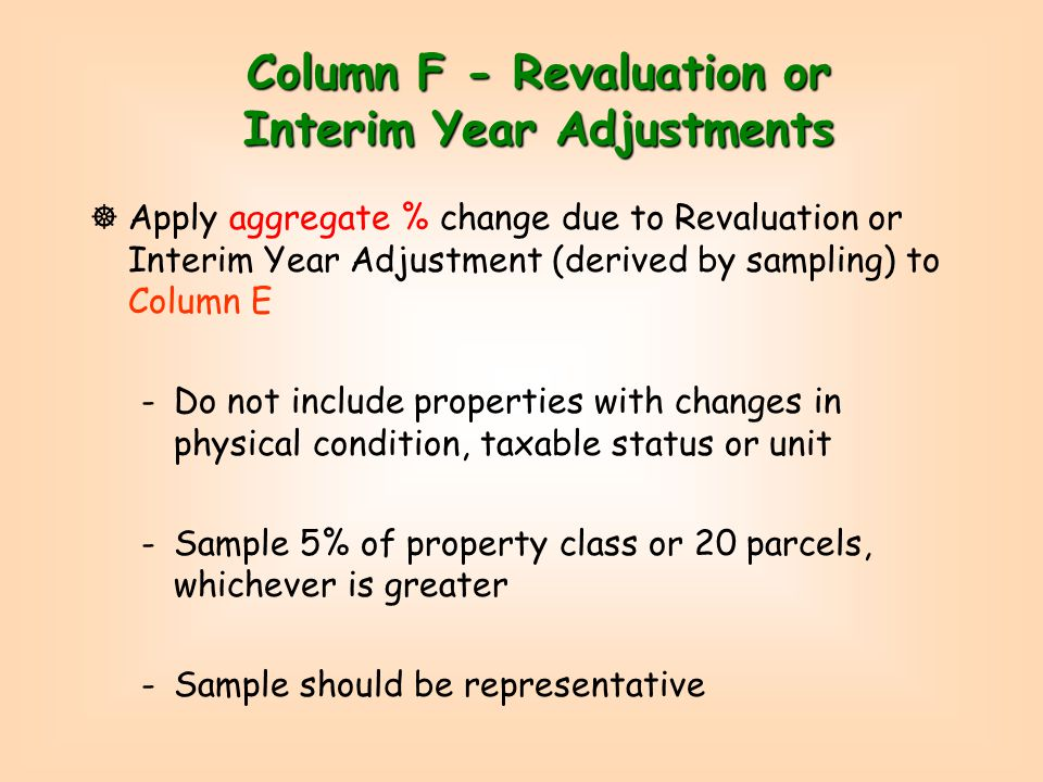 New Growth Form - LA13 Bottom Current Year Reval Adjusments and Growth Current Year Reval Adjusments and Growth