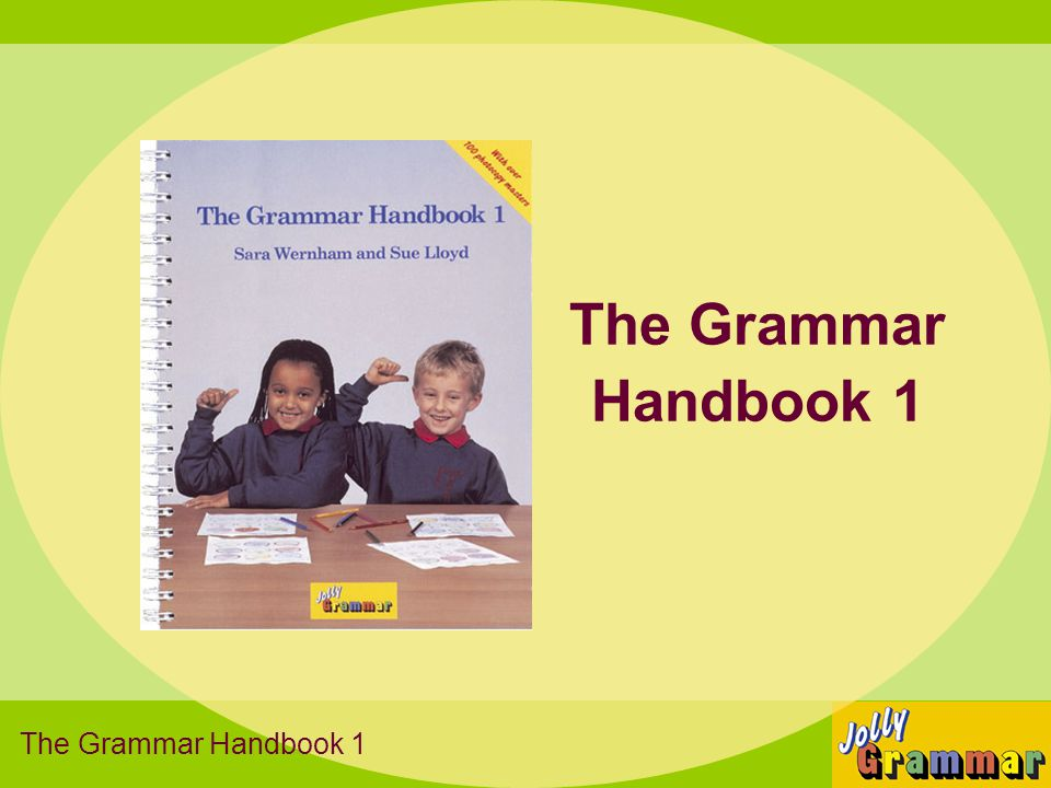 The Grammar Handbook 1