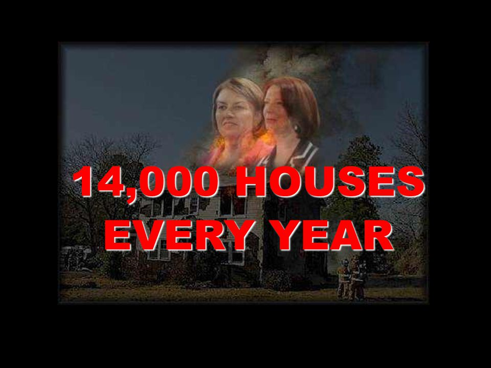 Ms. Gillard Gillard and Ms. Bligh For (in effect) BURNING DOWN are TODAY jointly responsible - FACT FACT –