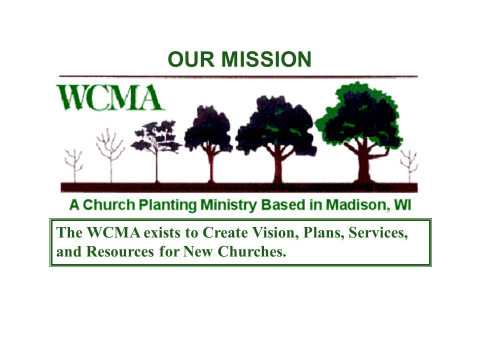 The Church Planting Network Process 1.Vision to Plant 2.