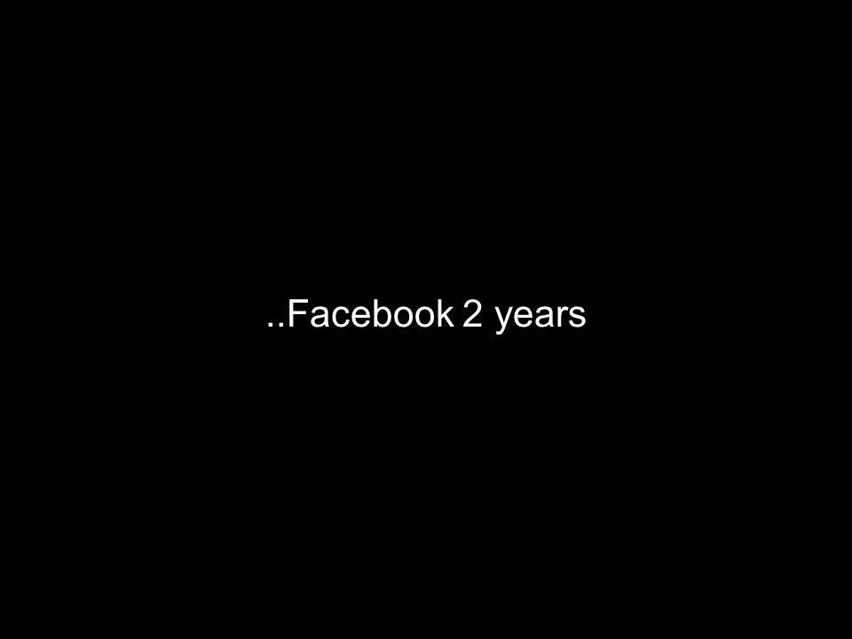 ..Facebook 2 years