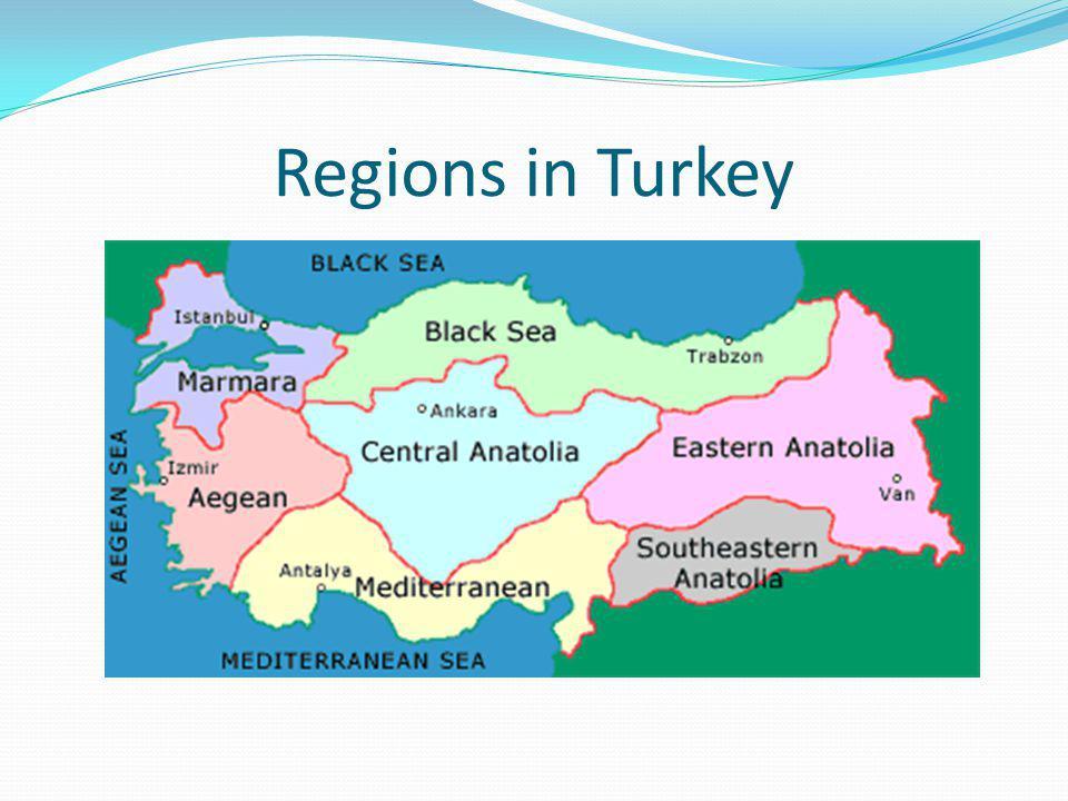Regions in Turkey