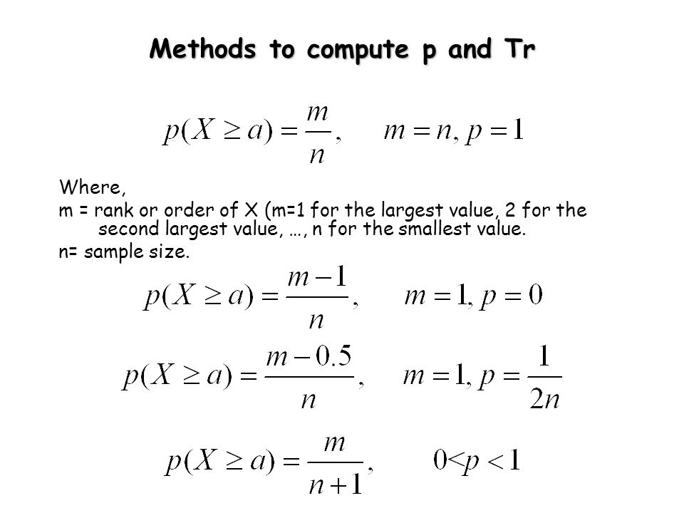 How to Choose a Theoretical Probability Distribution .