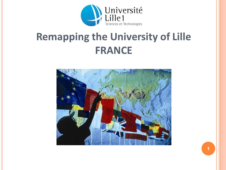 Remapping the University of Lille FRANCE 1
