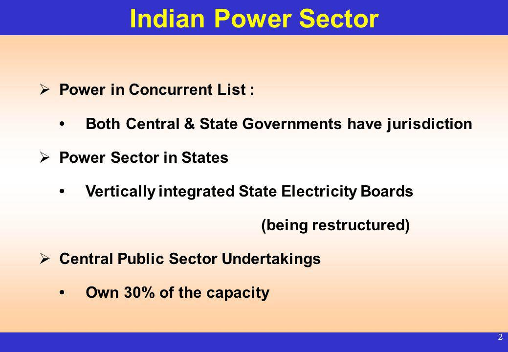 1 Hydro Sector Development in India Growth & Investment Opportunities R.V. SHAHI SECRETARY MINISTRY OF POWER GOVERNMENT OF INDIA Montreal (Canada) Jun