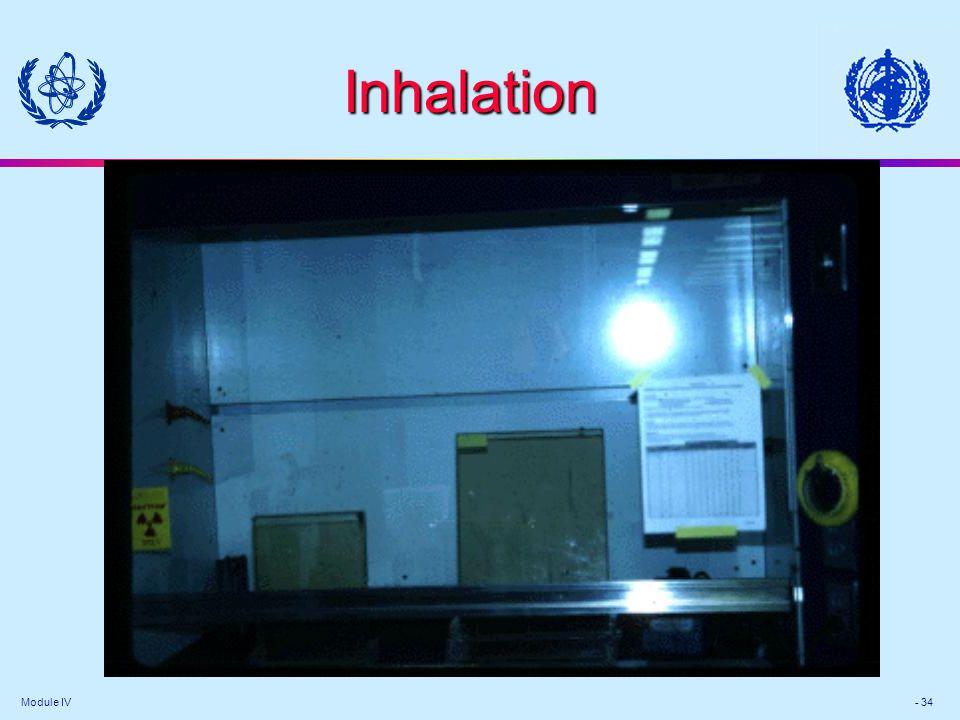 Module IV - 34 Inhalation