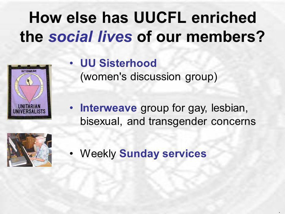 What has UUCFL offered the pagan community during the last year.