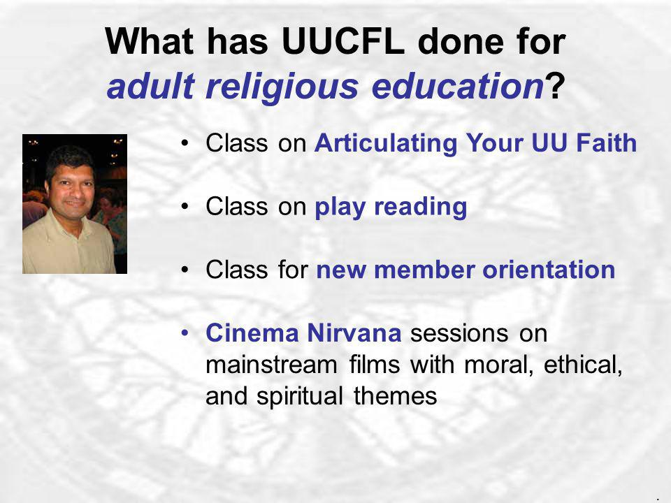 What did UUCFL do at the National UU Association General Assembly.