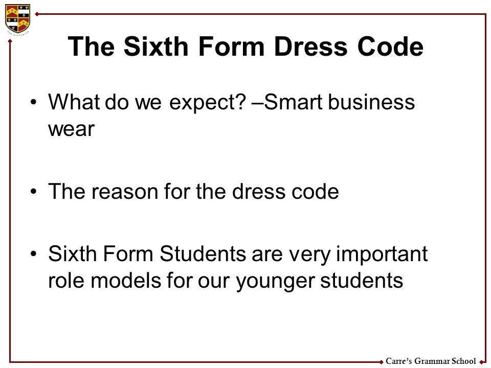 Carres Grammar School Discipline Procedure Stage 1.