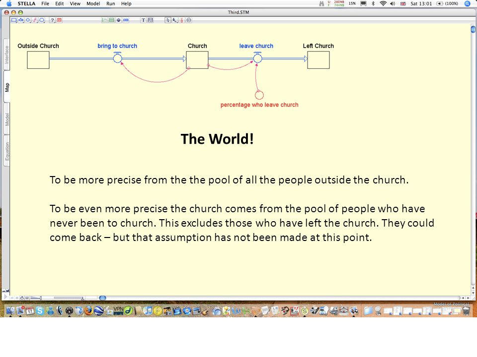 The World! To be more precise from the the pool of all the people outside the church. To be even more precise the church comes from the pool of people