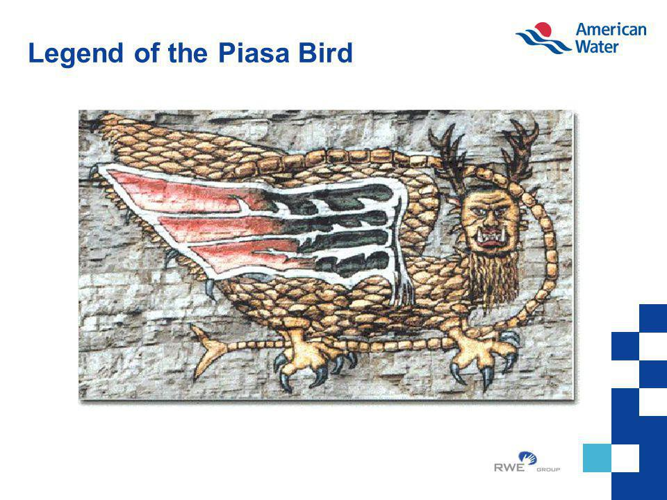 Legend of the Piasa Bird