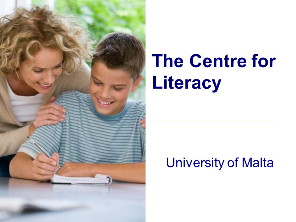Literacy Provision Project Following the National Literacy Surveys, a detailed questionnaire was sent to all heads of primary schools in Malta and Gozo, asking how their particular school was planning to improve the quality of the education in the school, with particular reference to literacy.