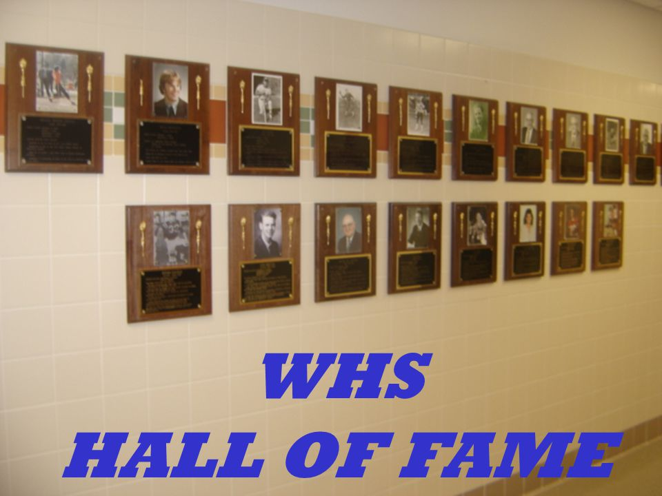 WHS HALL OF FAME
