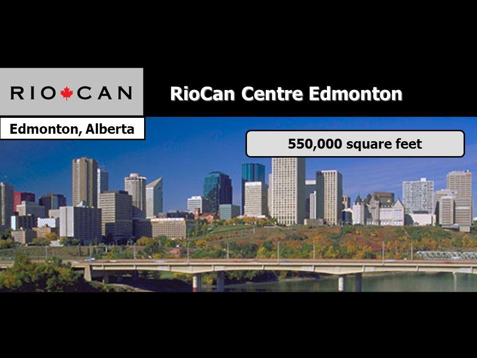 Edmonton, Alberta 550,000 square feet RioCan Centre Edmonton