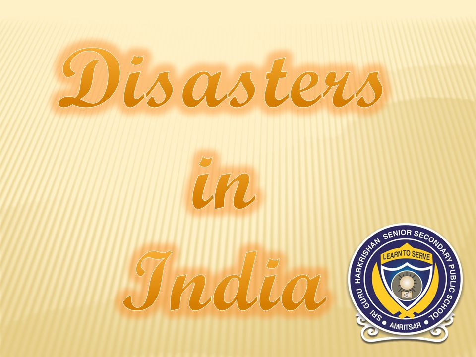 Natural disasters from 1980 to 2012 An overview No.