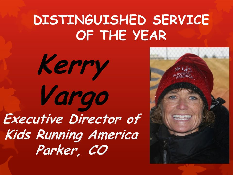 DISTINGUISHED SERVICE OF THE YEAR