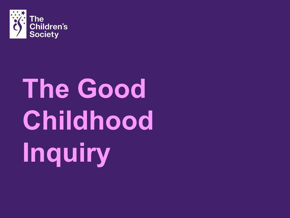The Good Childhood Inquiry