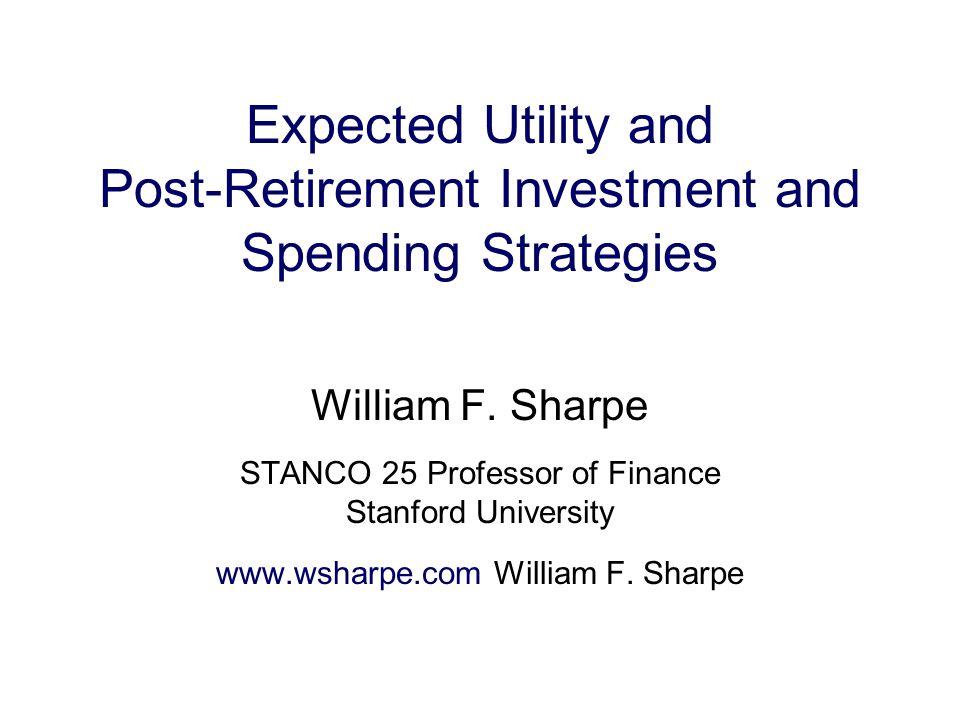 Choosing a Post-retirement Financial Plan