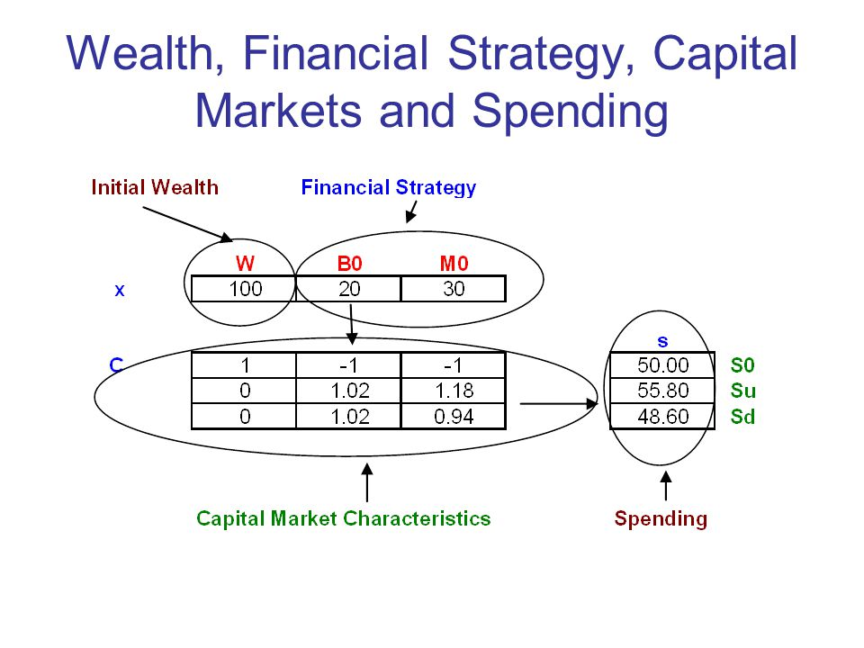 Wealth, Financial Strategy, Capital Markets and Spending