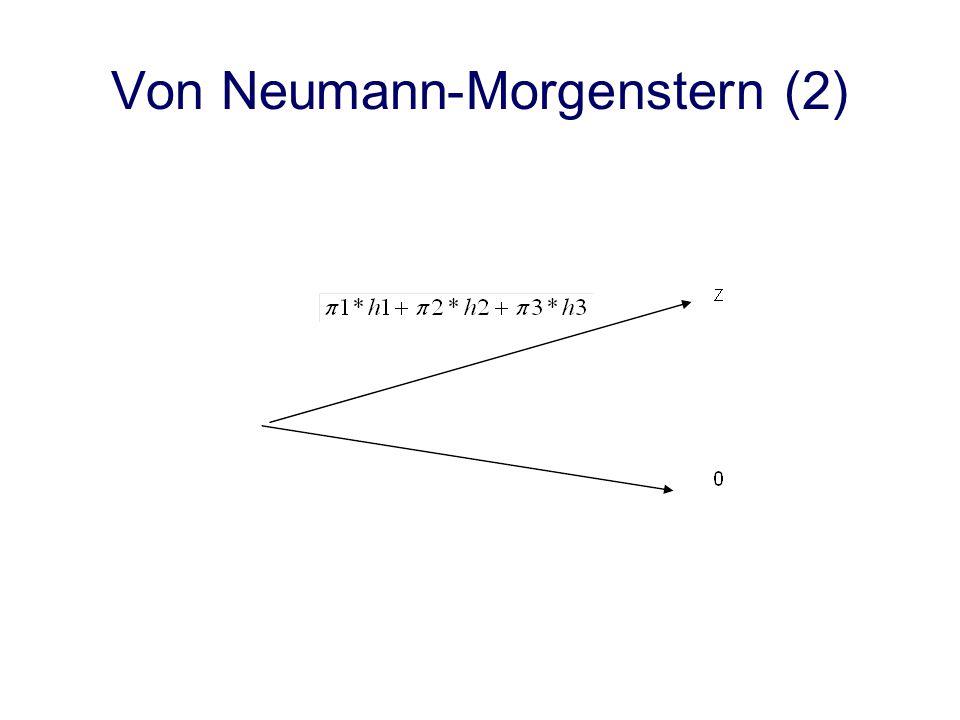 Von Neumann-Morgenstern (2)
