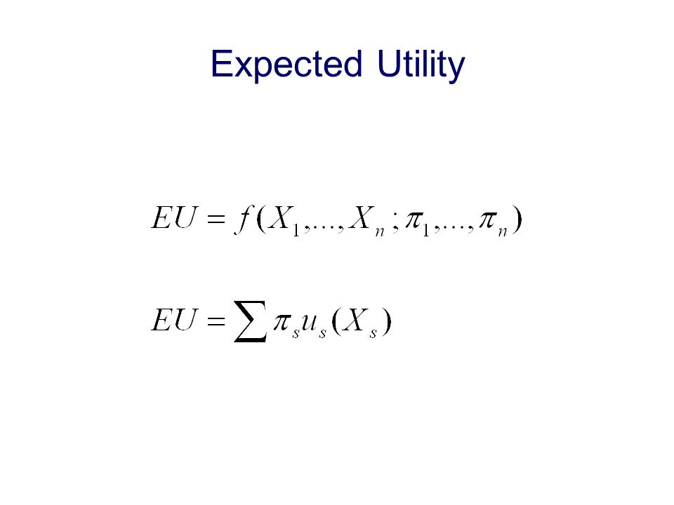 First-order Conditions for Maximizing Expected Utility