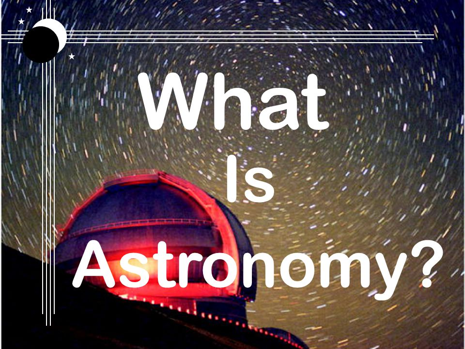 Amateurs and their tools What is an Amateur Astronomer?