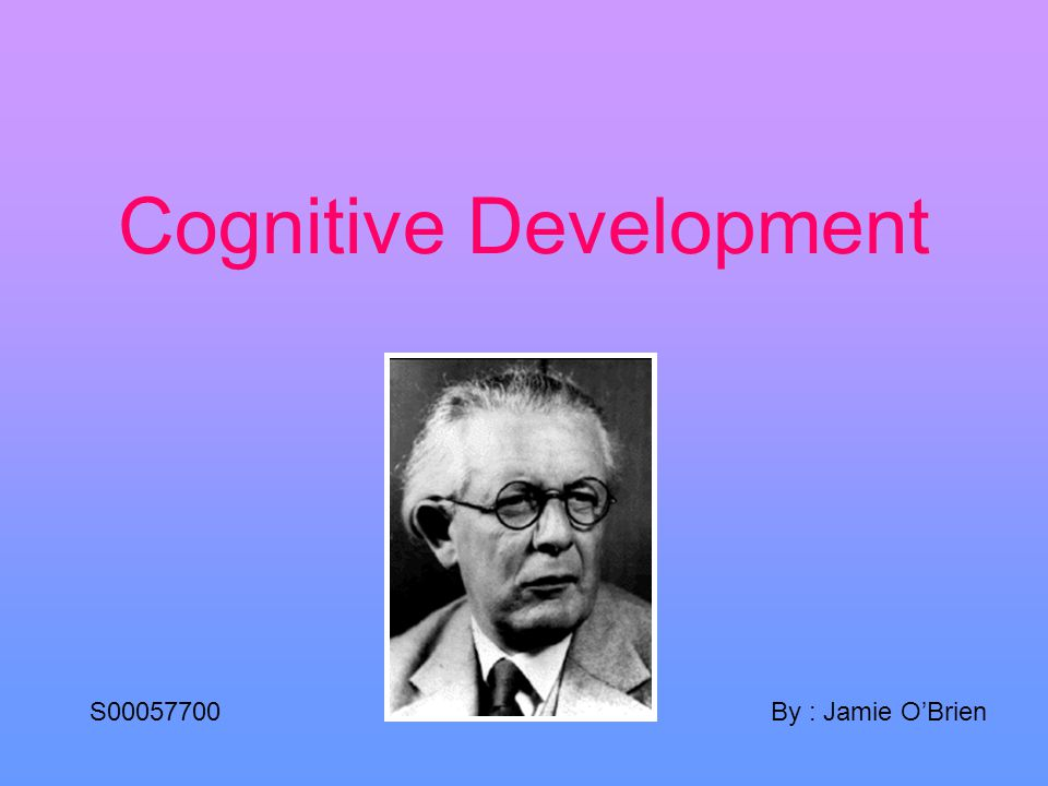 What is cognitive development.Expressed by (Berk.