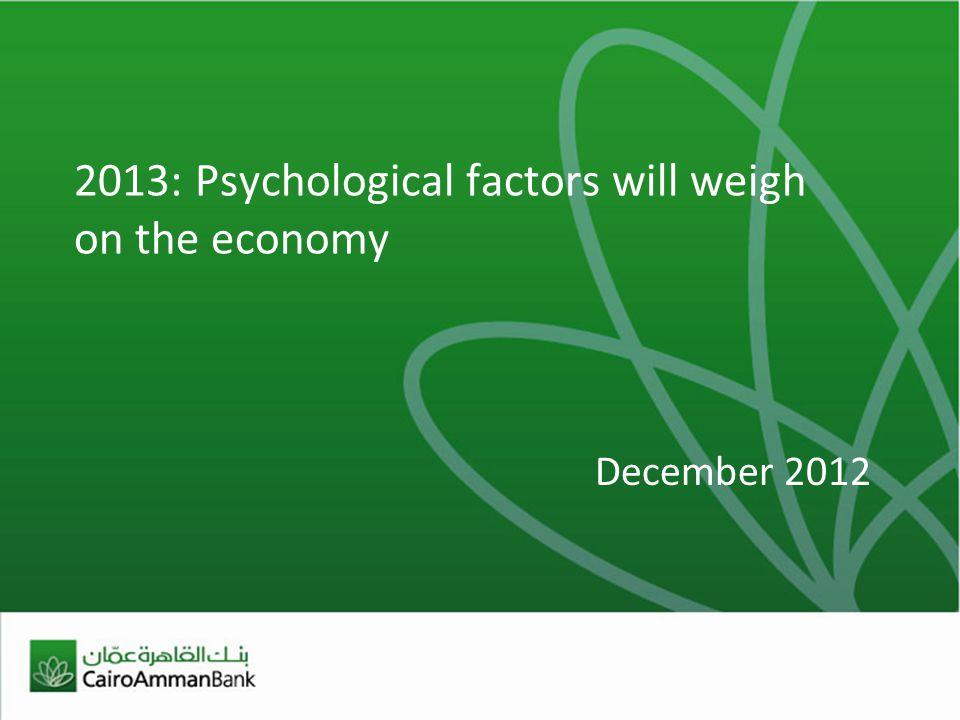 2 More austerity in the horizon 2013 LOCAL ECONOMIC THEMES