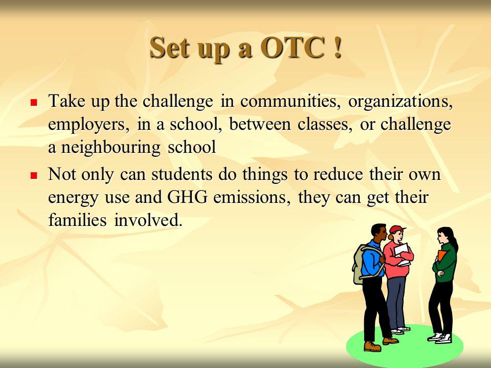 Set up a OTC .