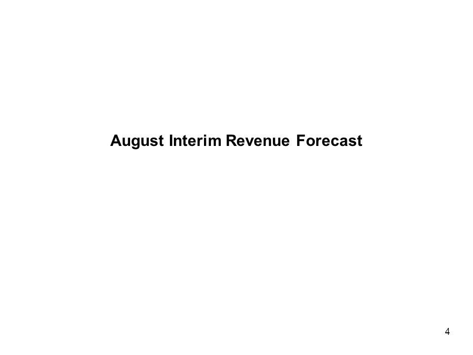 August Interim Revenue Forecast 4