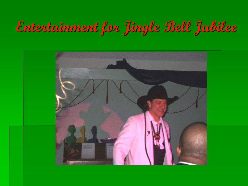 Entertainment for Jingle Bell Jubilee