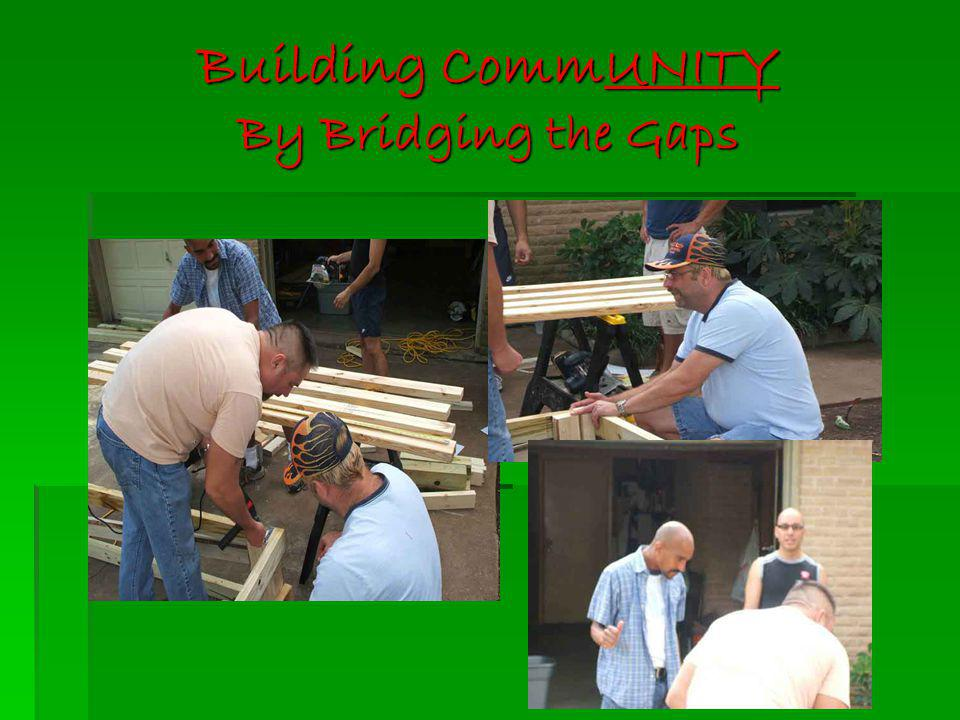 Building CommUNITY By Bridging the Gaps