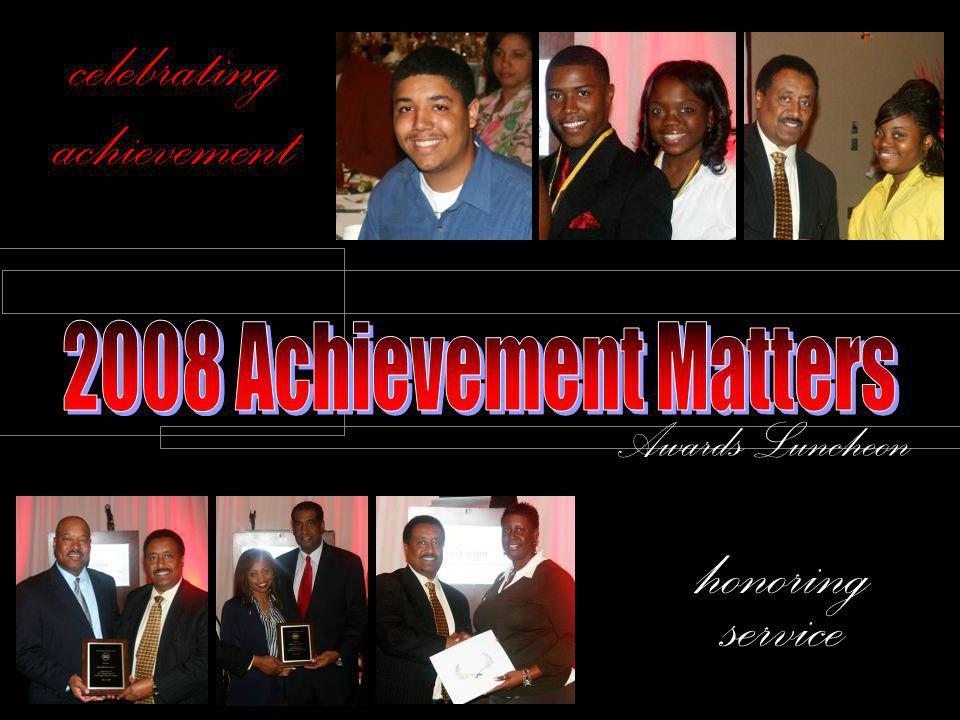 celebrating achievement honoring service Awards Luncheon
