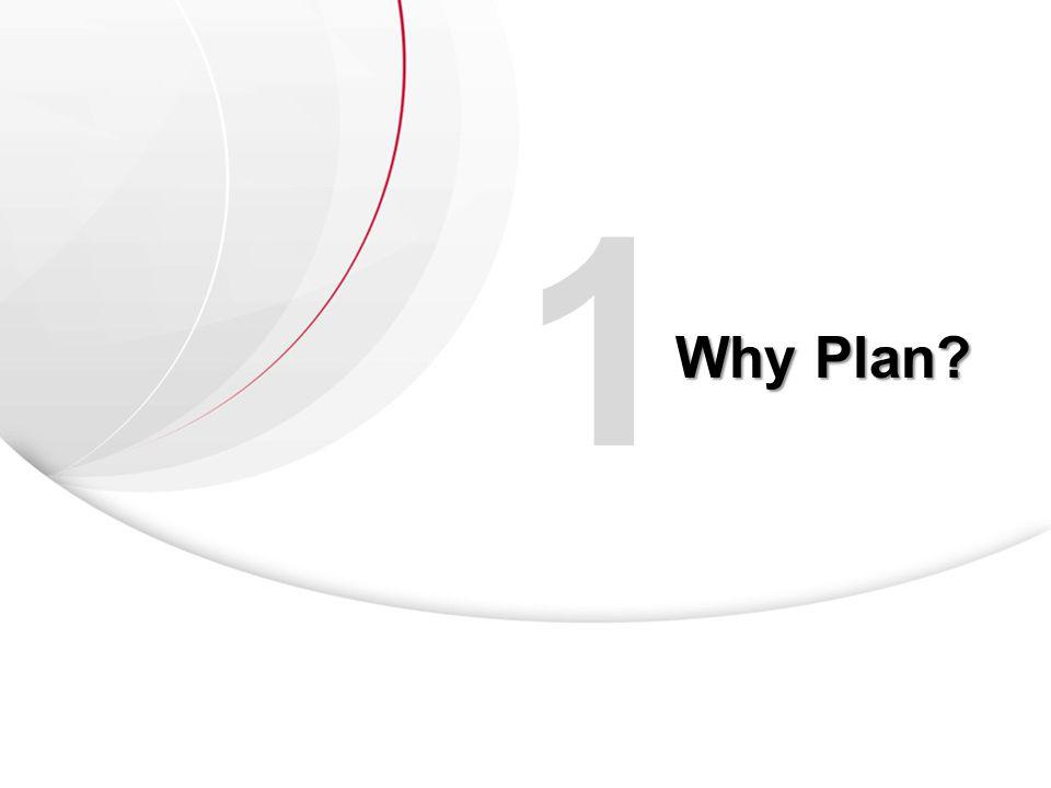 1 Why Plan?