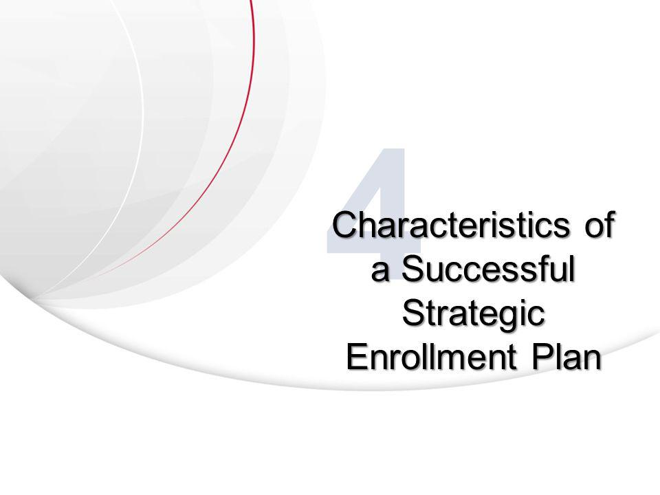 4 Characteristics of a Successful Strategic Enrollment Plan