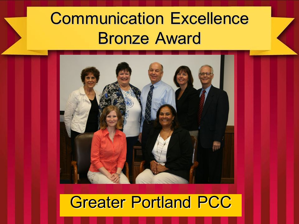 Education Excellence Gold Award Central Ohio PCC Their focus on cost-savings and decreased time commitments in the utilization of established communications vehicles such as webinars, seminars, workshops, and email; combined with very user friendly website, informed, attracted, and provided value to their members!