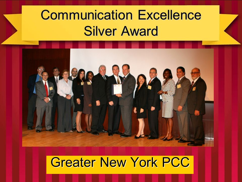 Communication Excellence Bronze Award Greater Portland PCC Their creative uses of mail to grow mail, and their very dynamic website; combined with an