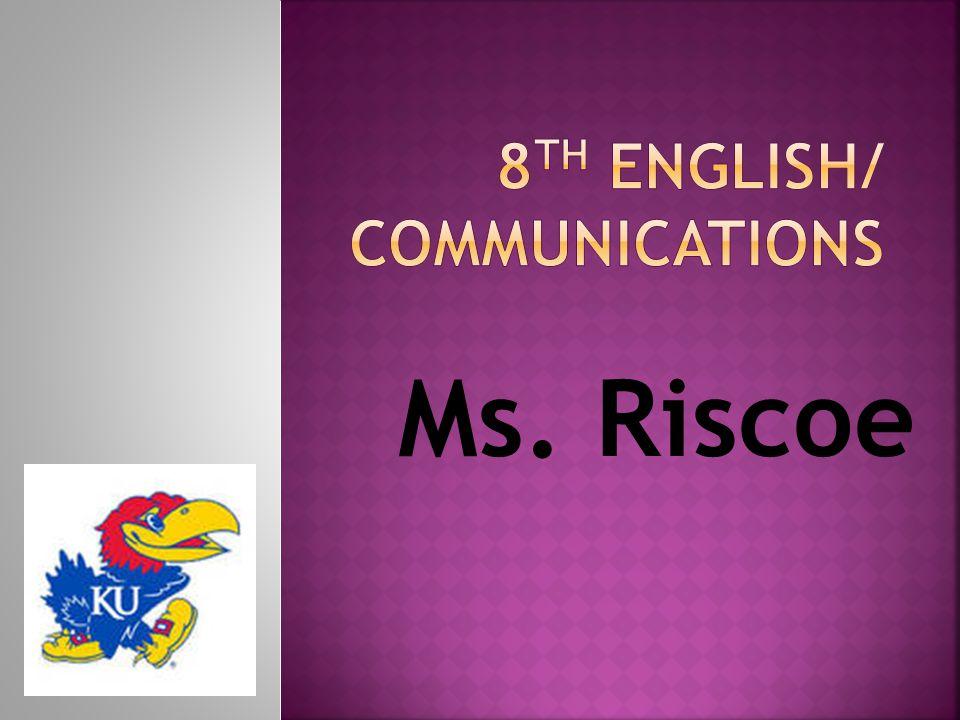 Ms. Riscoe