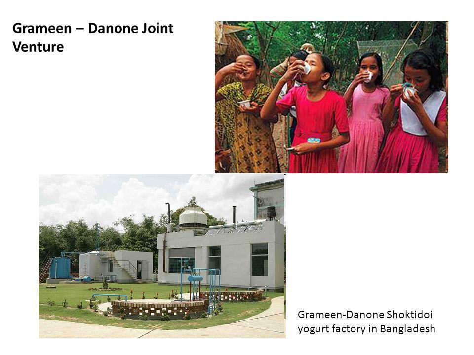 Grameen – Danone Joint Venture Grameen-Danone Shoktidoi yogurt factory in Bangladesh
