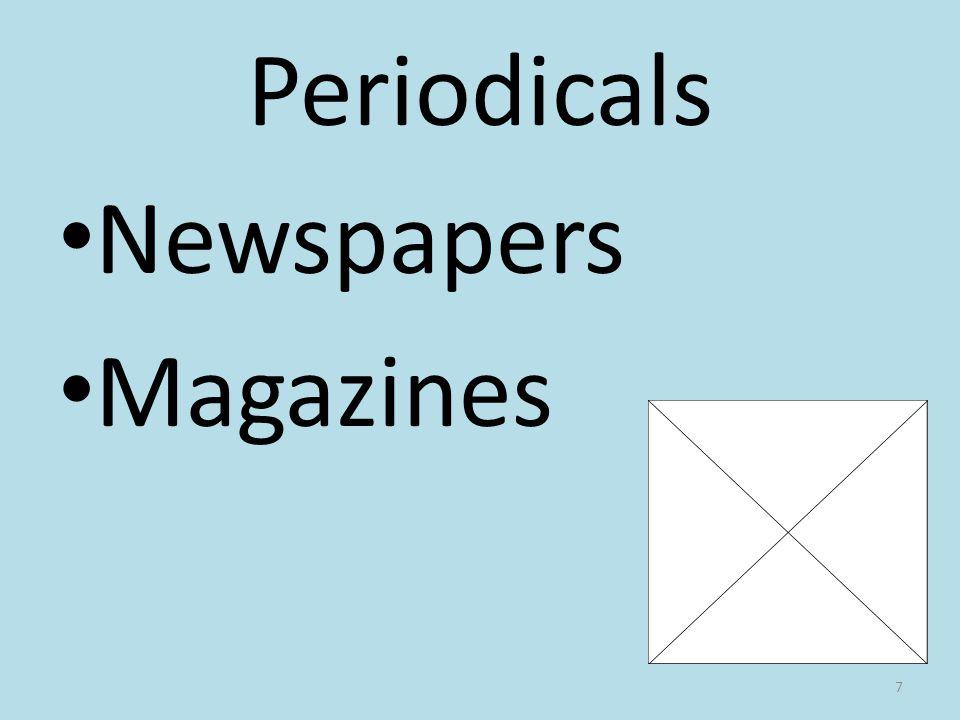 Periodicals Newspapers Magazines 7