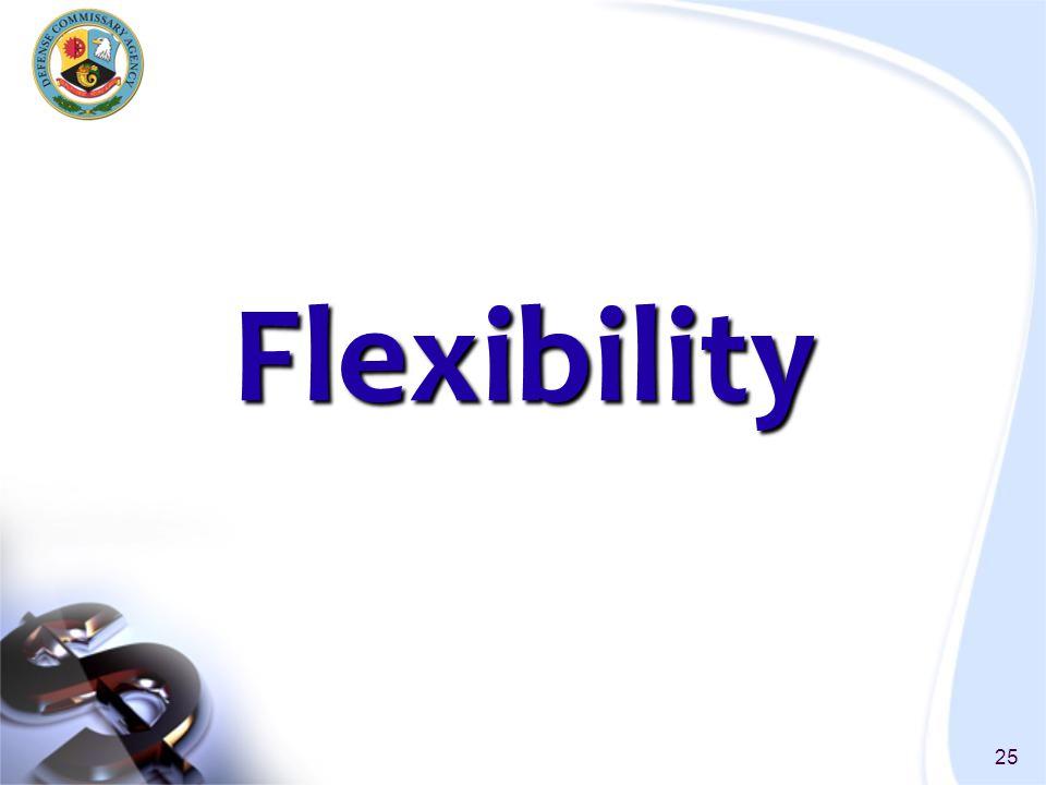 25 Flexibility