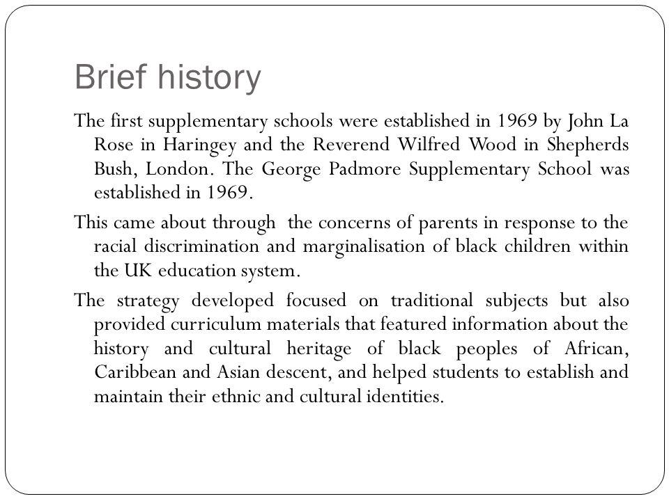 The Project Funded through a LAA African- Caribbean and Turkish/Kurdish achievement main focus.