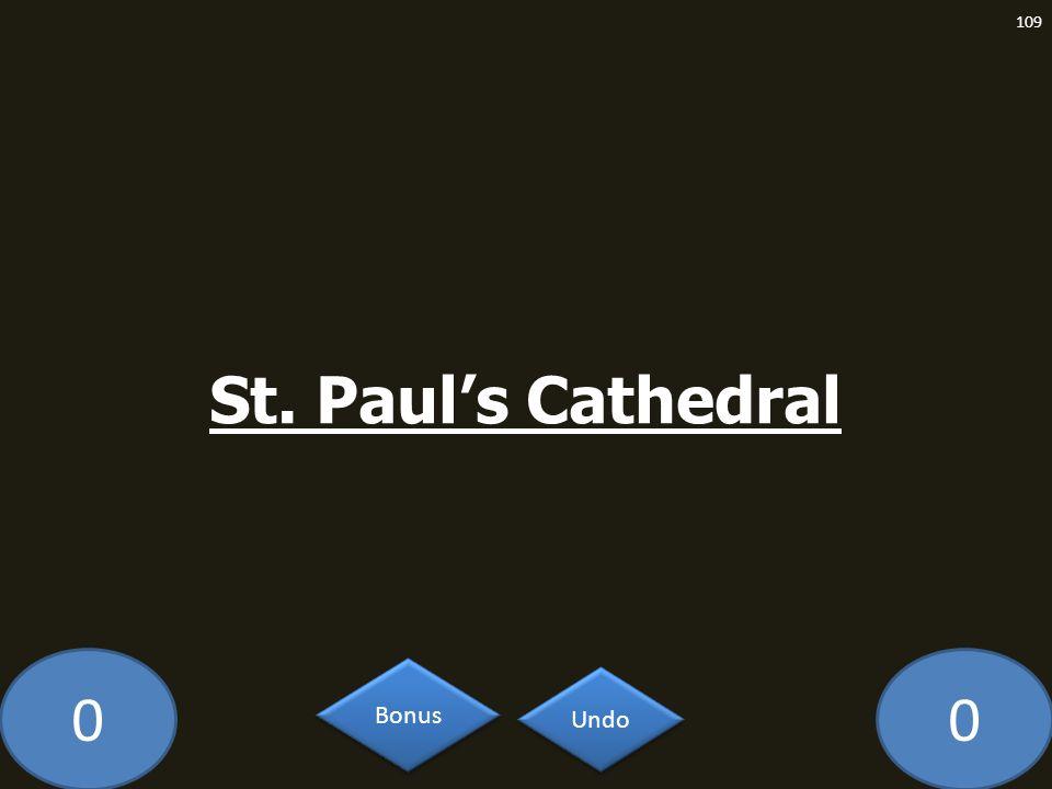 00 St. Pauls Cathedral 109 Undo Bonus