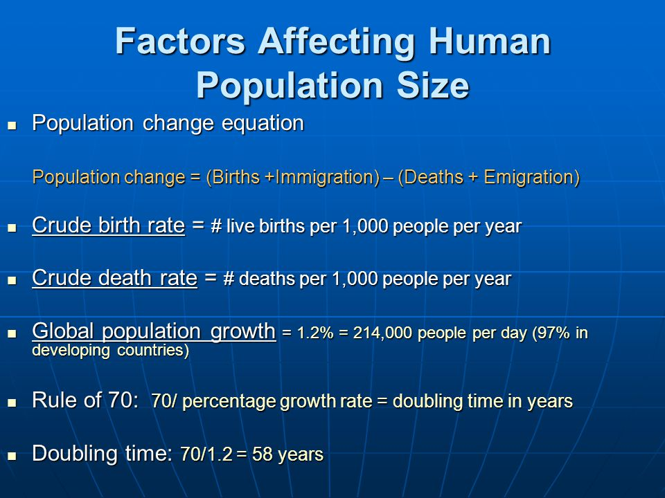 Is the World Overpopulated? Fig. 6-1, p. 94 Click for Current US and World Population http://www.census.gov/main/www/popclock.html